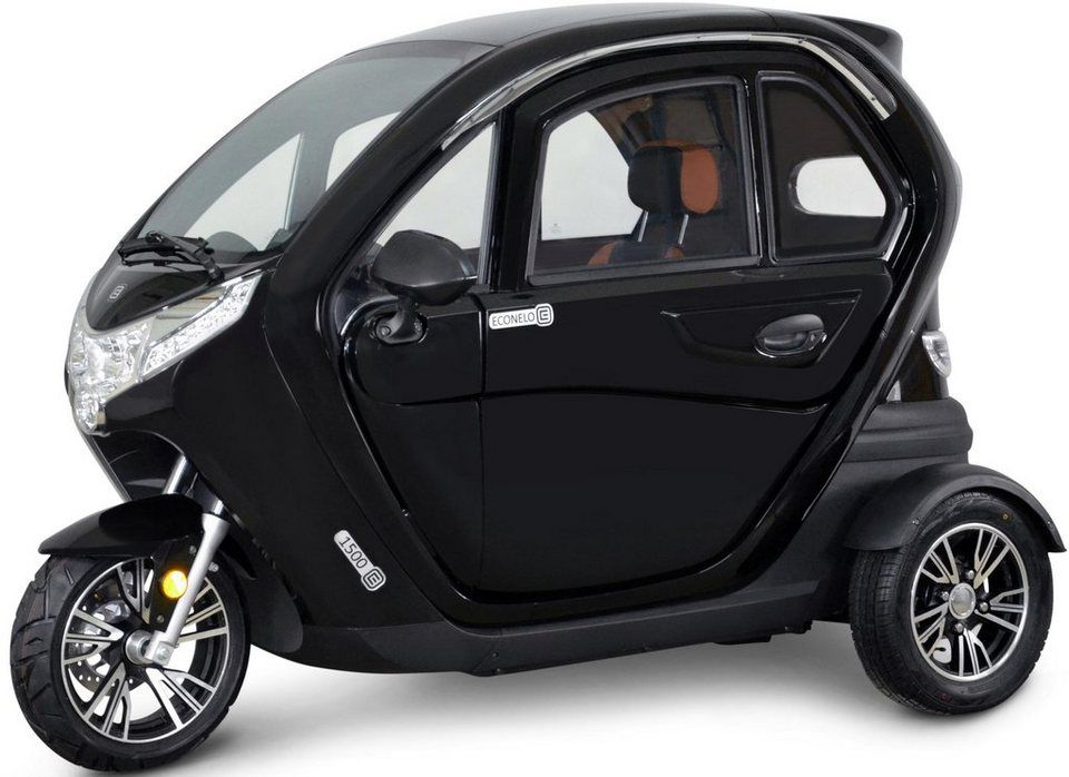 Econelo E Scooter Econelo 1500 1500 W 45 Km H Fur 6 299 00 Mit Komfortabelm Dach Kabine 1500 Watt Motor Burstenloser Ele E Fahrrad Elektro Motor E Bike