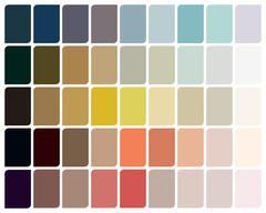 Sofisticacion Moderna Con Neutros Superpuestos Alba Paleta De Colores Pintura Clave De Color Paletas De Colores
