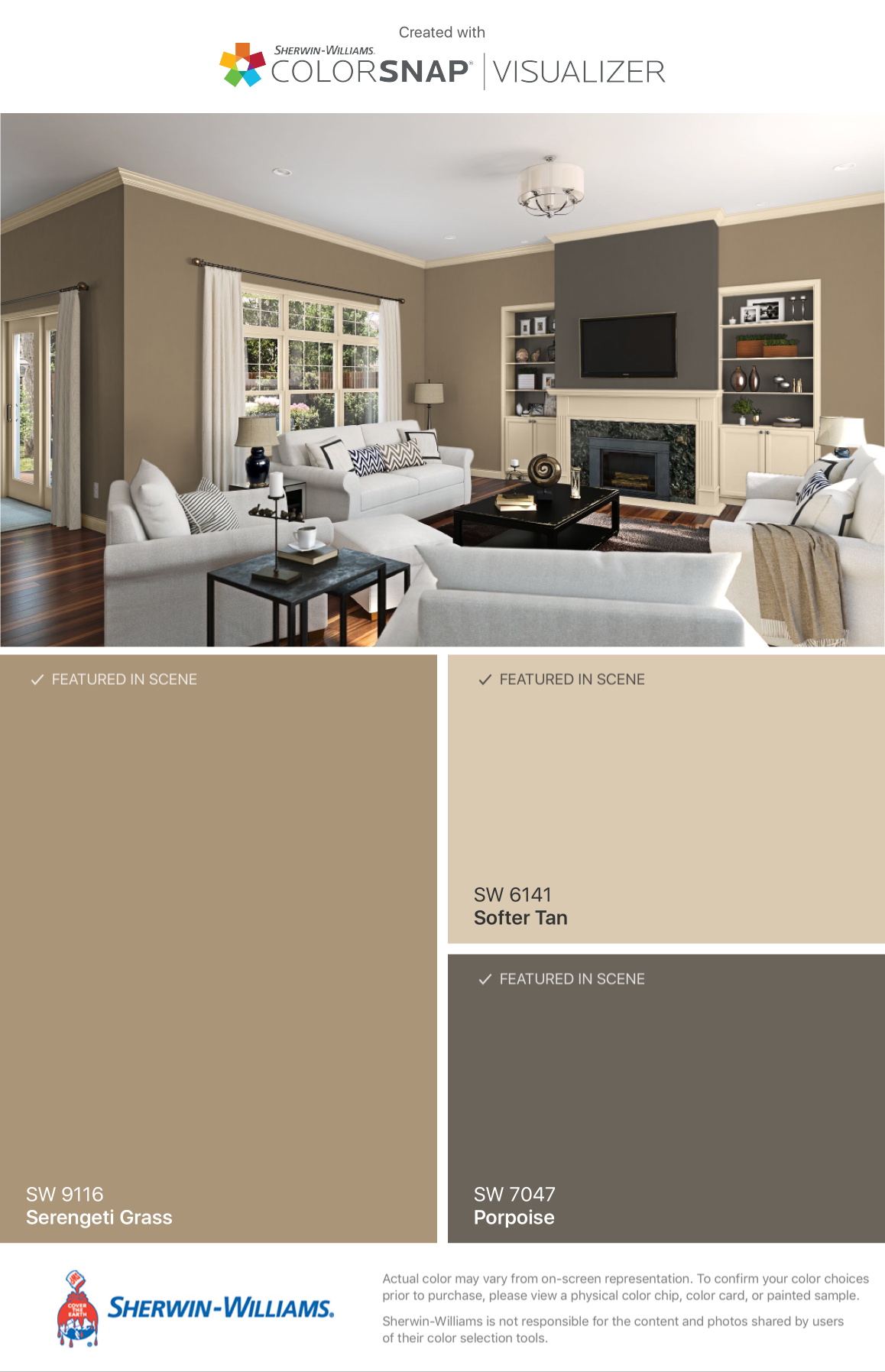 Love Serengeti Tan Color To Go With Softer Tan Already In House Paint Colors For Home Room Paint Colors Paint Colors For Living Room
