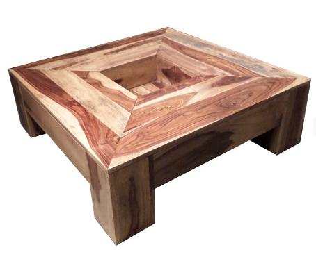 kif kif import table basse bois style_decor_zen japonais - Table Japonaise Basse