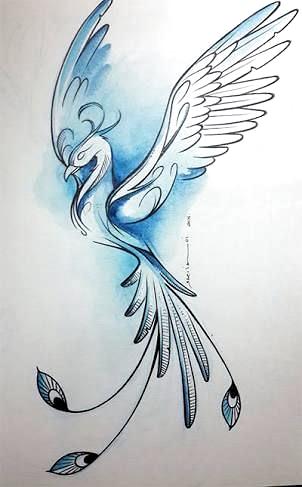 Tattoo fabelwesen Drachen Tattoo