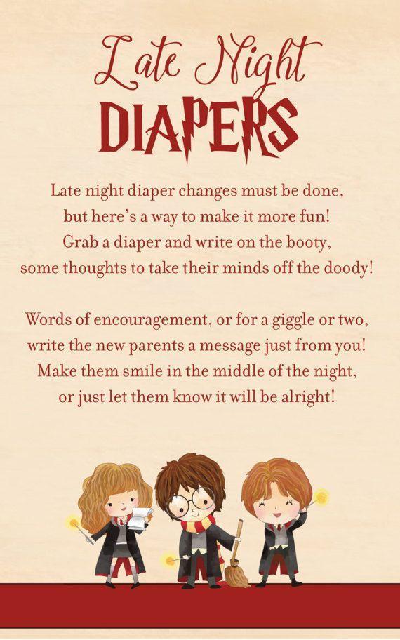 Harry Potter Baby Shower Games Harry Potter Baby Shower Game #babyshowerideasfo