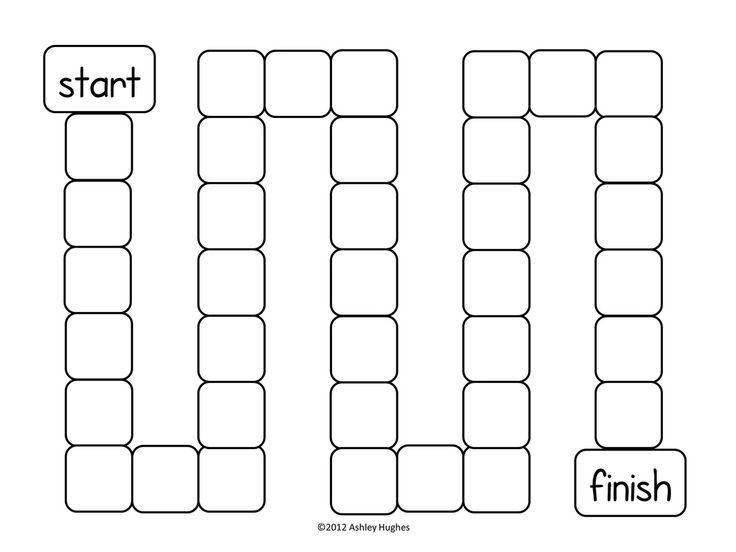 Printable game board templates pinterest printable game board templates pronofoot35fo Images