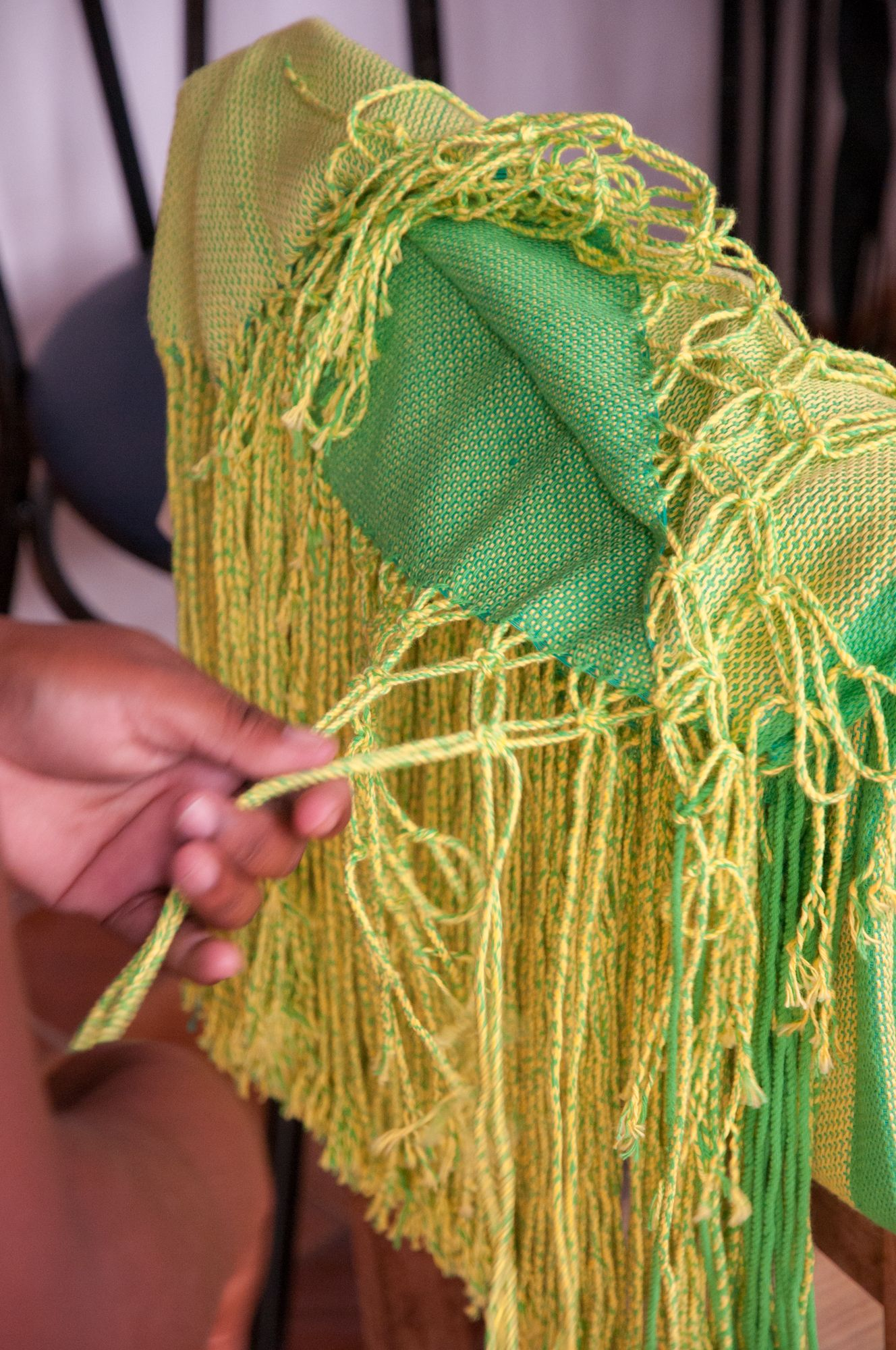 #DitoEscolinha. Creating #hammocks, #macramé, and #fringes at home offers #weavers the possibility to look after their families at the same time
