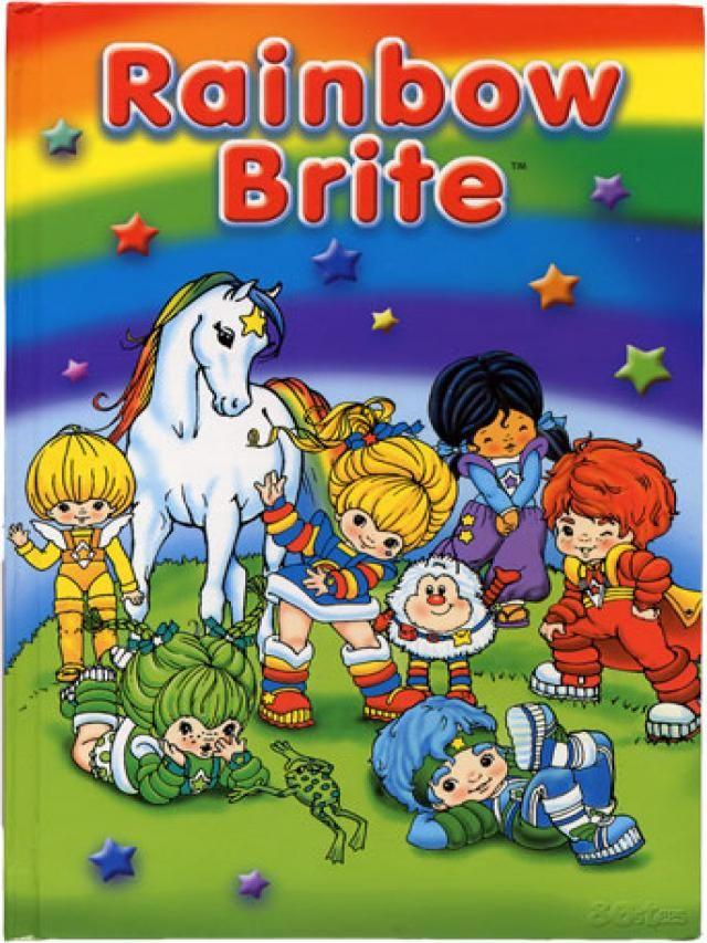 Dibujos Animados De Los 80 80s Cartoons Rainbow Brite Childhood Memories