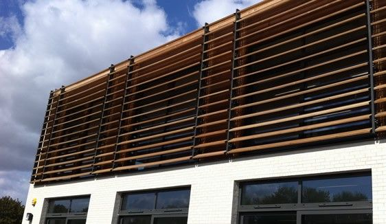 Architectural Louvre Specialists Who Create Build And Install Solar Shading Brise Soleil Timber Shading Aluminiu Solar Shades Facade Design Shading System