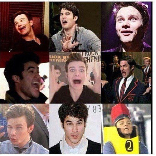 Faces- Darren Criss and Chris Colfer