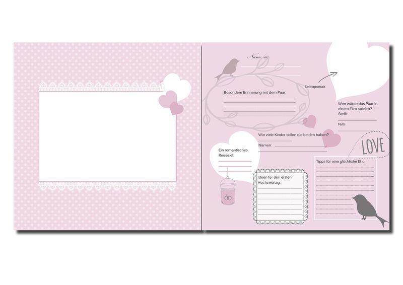 Gästebuch+Hochzeit+von+meins!+auf+DaWanda.com