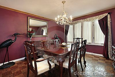 like the wine colored wall for the dining room dining room in 2019 bedroom decor room. Black Bedroom Furniture Sets. Home Design Ideas