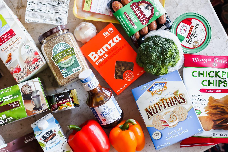 My Typical Healthy Grocery List Jewel Osco Home Delivery Lake Shore Lady Healthy Grocery List Healthy Grocery