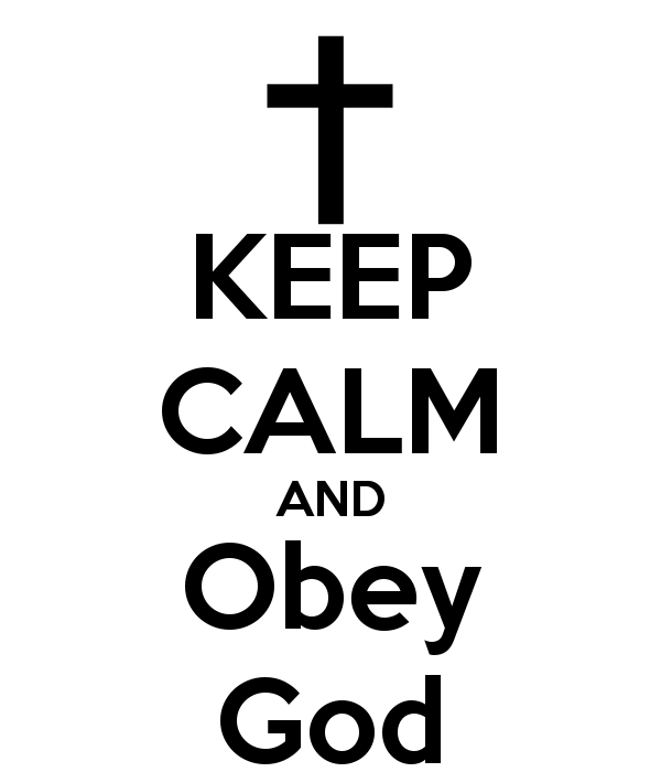 Image result for obey god