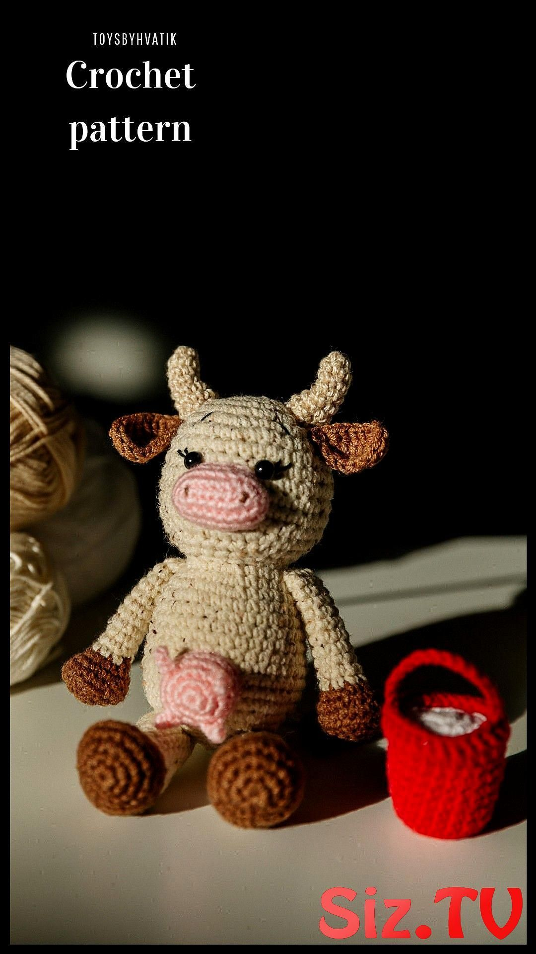 Cow Amigurumi Animal Amigurumi Pattern Crochet Pet Amirurumi Cow Crochet Cow Crochet Pattern Cow Crochet Toy Crochet Pattern Amigurumi Pattern Easy Crochet Cow Easy Crochet Pattern Crochet Pattern Cow Easy Amigurumi Pattern This Is A Listing For The Pattern Not The Finished Product Crochet Pattern CowCrochet Cow Amigurumi Animal ...