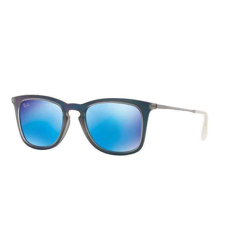 2ea36fee036 Ray-Ban Youngster RB4221 50mm Square Mirror Sunglasses