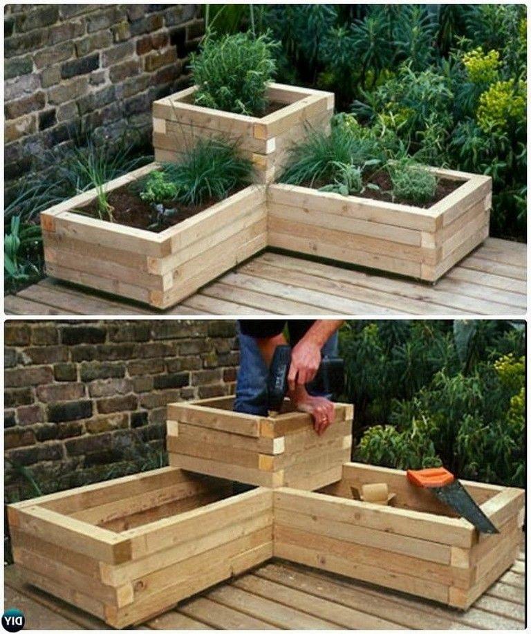 10 cold diy garden bed and planter ideas moestuinbak