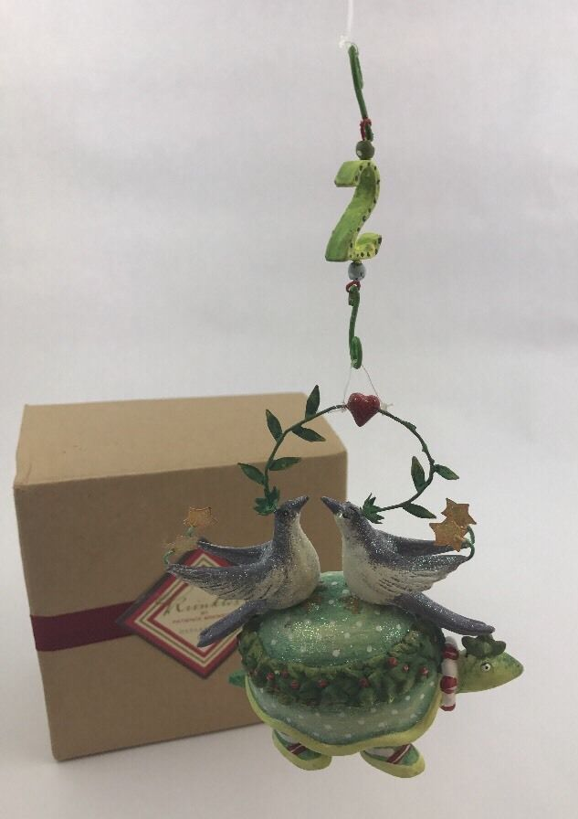 NEW Krinkles Patience Brewster 2 Two Turtle Doves Ornament 12 Days of Christmas     eBay