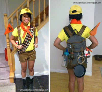 A Litre Of Sunshine Making My Halloween Costume Russell The Wilderness Explorer