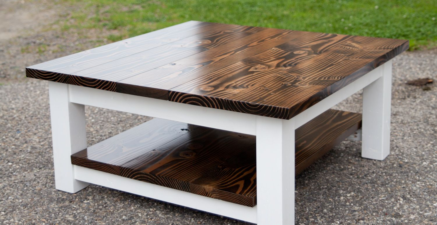 Walden Pond Coffee Table Coffee table farmhouse, Rustic