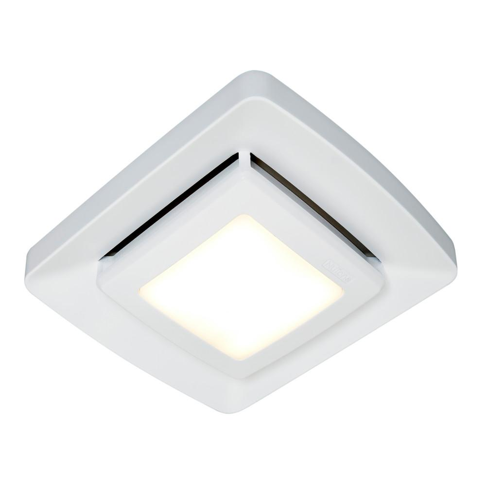 Nutone Quick Installation Bathroom Exhaust Fan Grille Cover With Led Fg500ns Bathroom Exhaust Fan