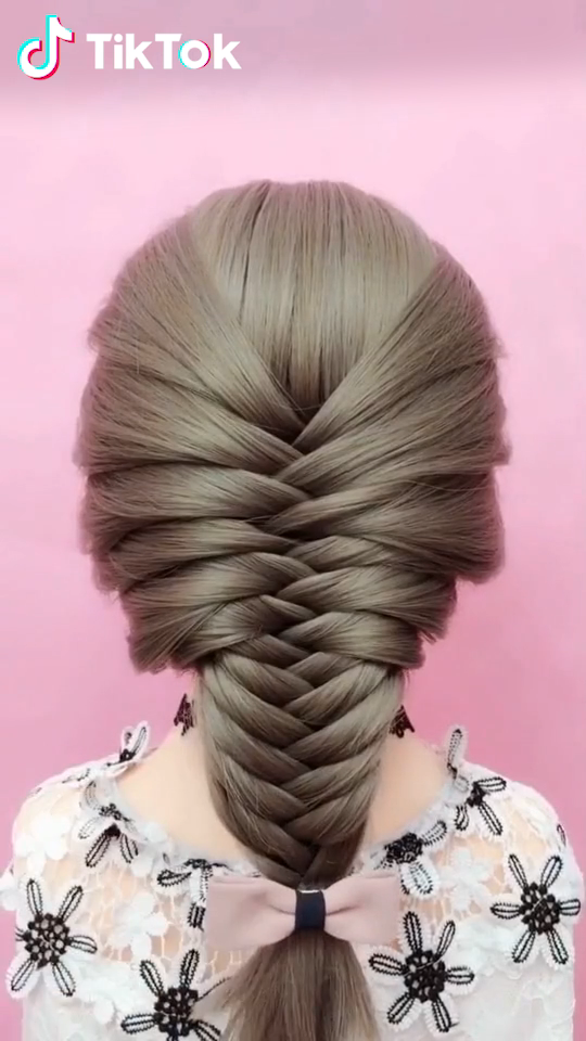 Super Easy To Try A New Hairstyle Download Tiktok Today