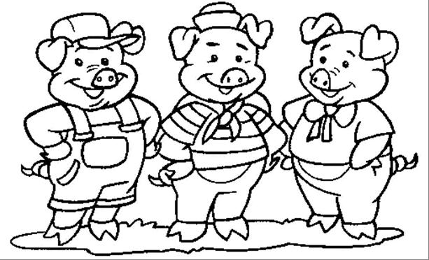 Pin De Carolyn Angle Stearns Em Pigs Porquinhos Desenho Os Tres