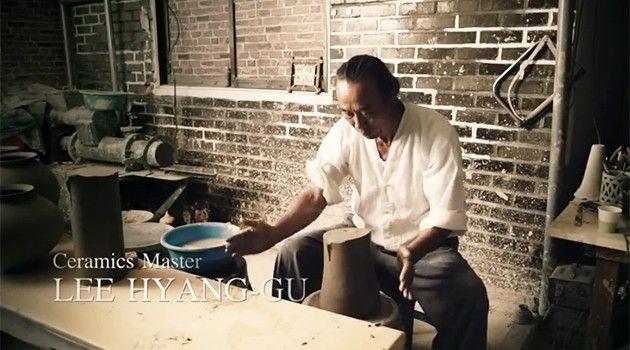 Maestros de la cerámica de Corea del Sur