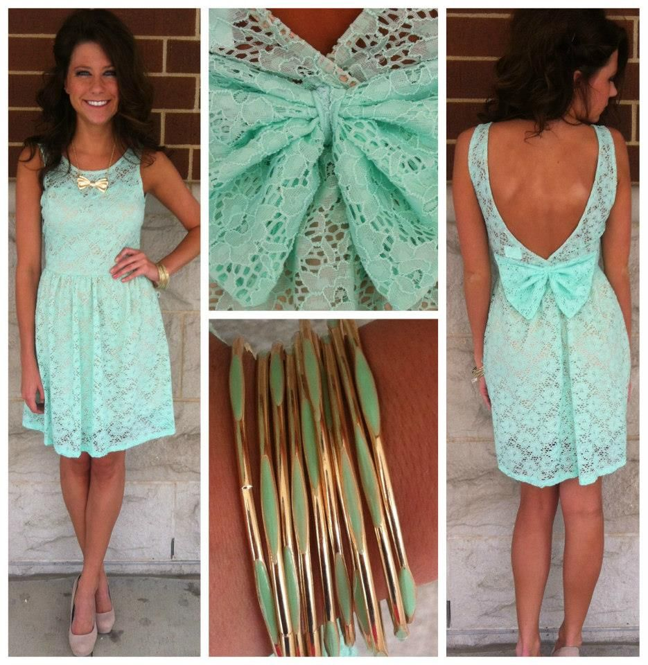 Love the color of this dress!! Great dress to wear to a summer ...