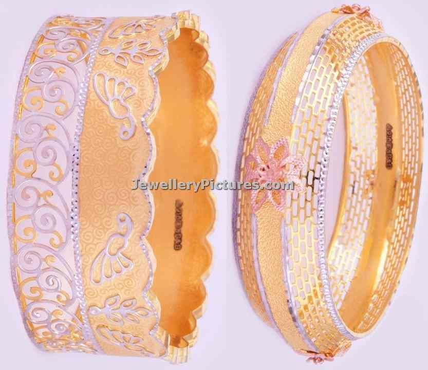 latest bangles by bhima jewellers | gold bangles | Pinterest ...