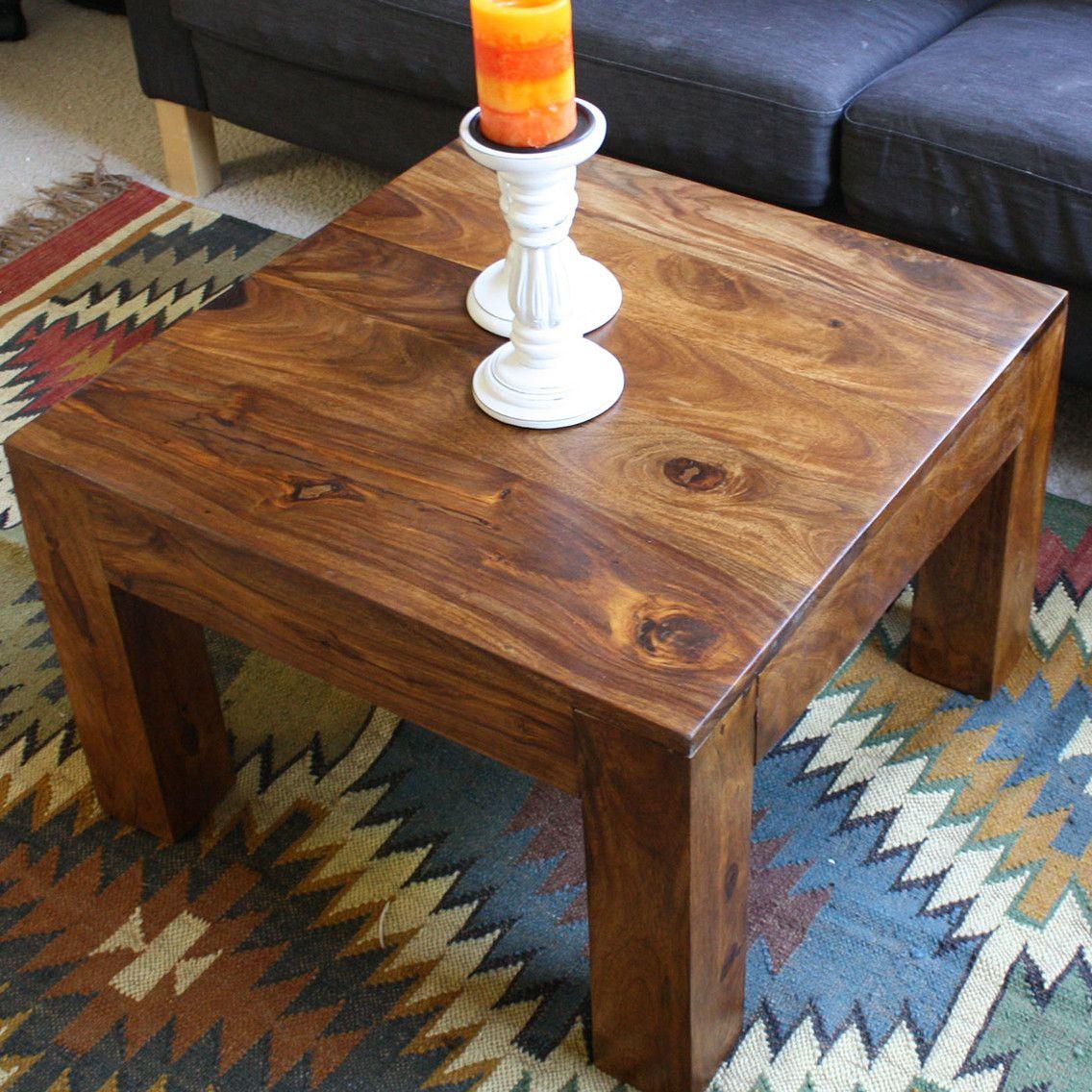 Timbergirl Cube Coffee Table Cube coffee table, Coffee