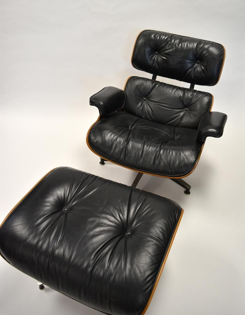 James Eames Lounge Chair Herman Miller Rosewood Eames Lounge Chair And Ottoman - 8 ...