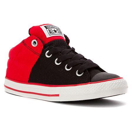 Converse Chuck Taylor Axel Mid Sneaker Pre/Grade School | Boys' - Black/