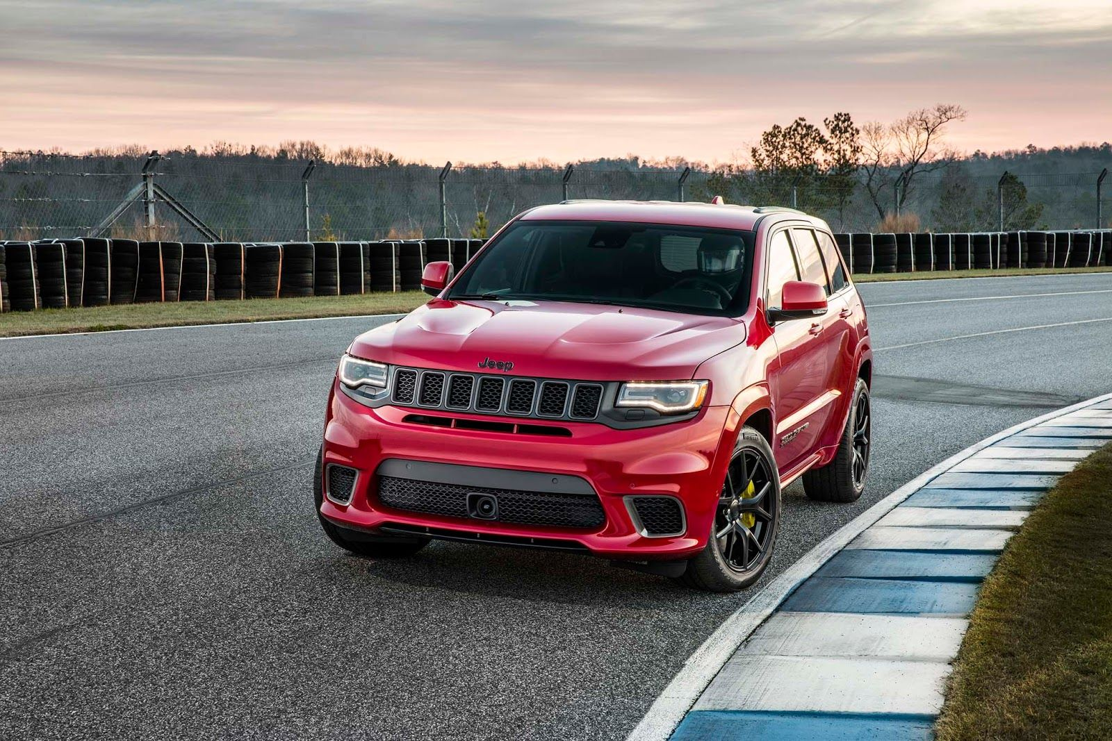 2018 Jeep Grand Cherokee Trackhawk Is A 707 Hp All Wheel Drive Brute Jeep Grand Cherokee Jeep Grand Jeep Grand Cherokee Srt