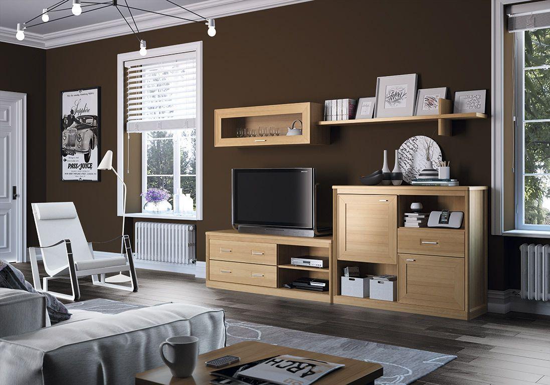 tus muebles...¿en madera o melamina? son muchos los clientes que ... - Muebles De Madera Modernos Para Comedor