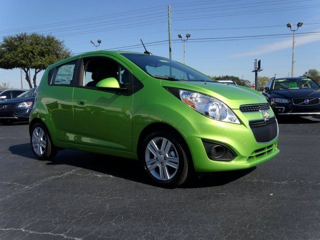 2014 Chevrolet Spark Lt Hatchback Lime Green Chevrolet