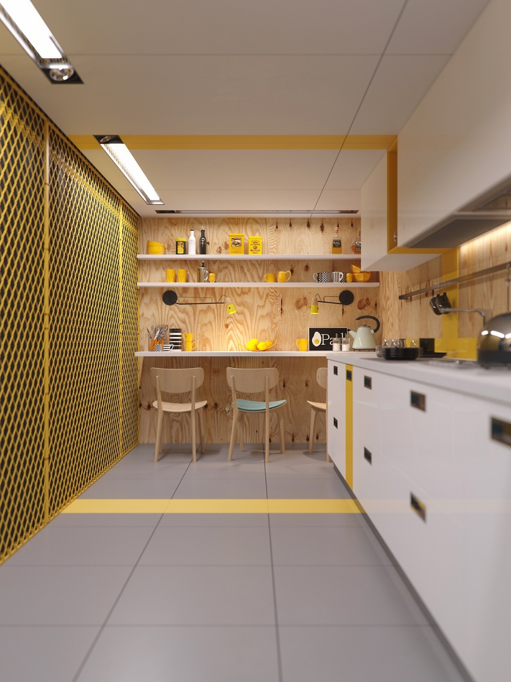 22 Yellow Accent Kitchens That Really Shine Kitchen