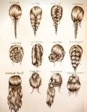 Different Types Of Braids Google Search Braided Hairstyles Easy Medium Hair Styles Long Hair Styles