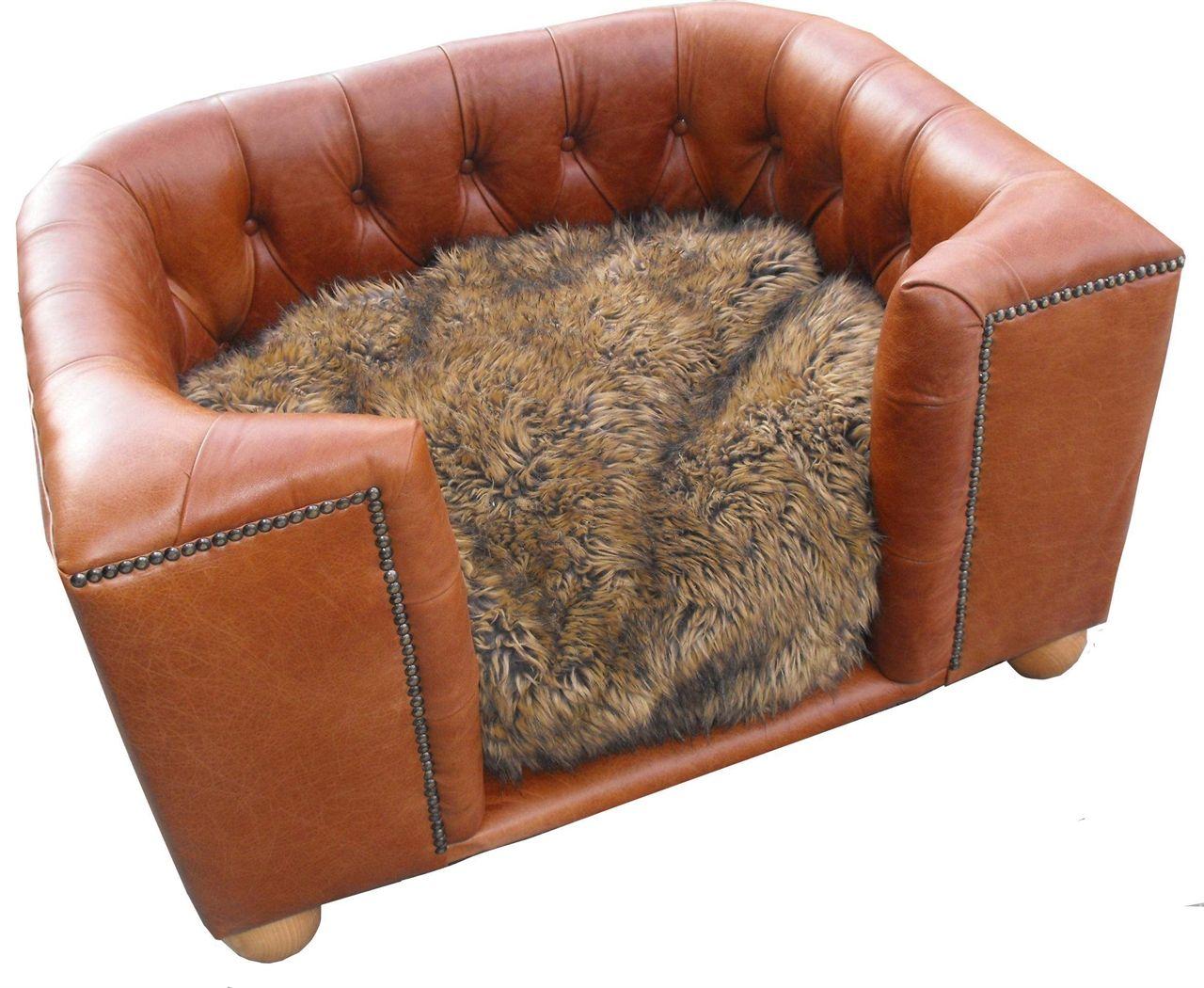 Pink Whiskers Luxury Bespoke Pet Furniture Luxury Leather Dog Beds Dog Bed Luxury Dog Bed Leather Dog Bed