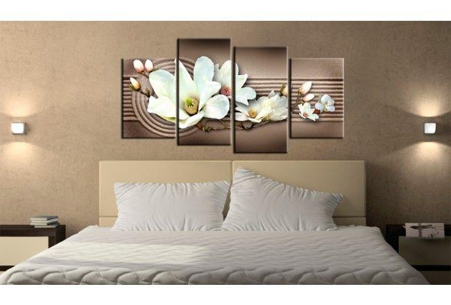 Quadro su tela orchidea candida astratta orchidee fiori quadri