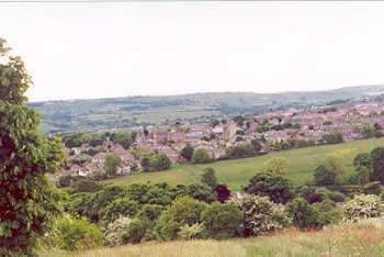 Allerton Bradford W Yorkshire Taken From Daisy Lane Near