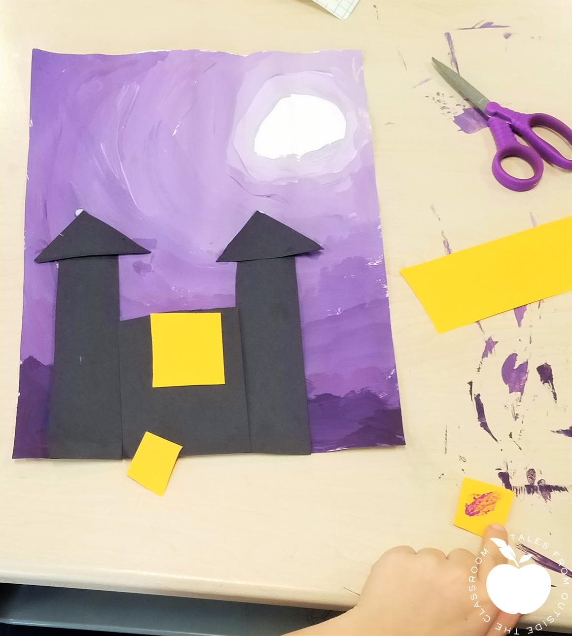 Scary Word Problems A Math And Art Integrated Halloween