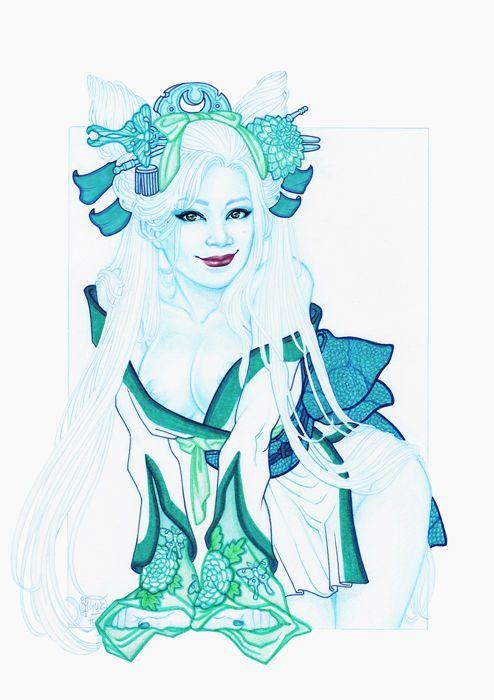 Jacqueline goehner witchblade cosplay