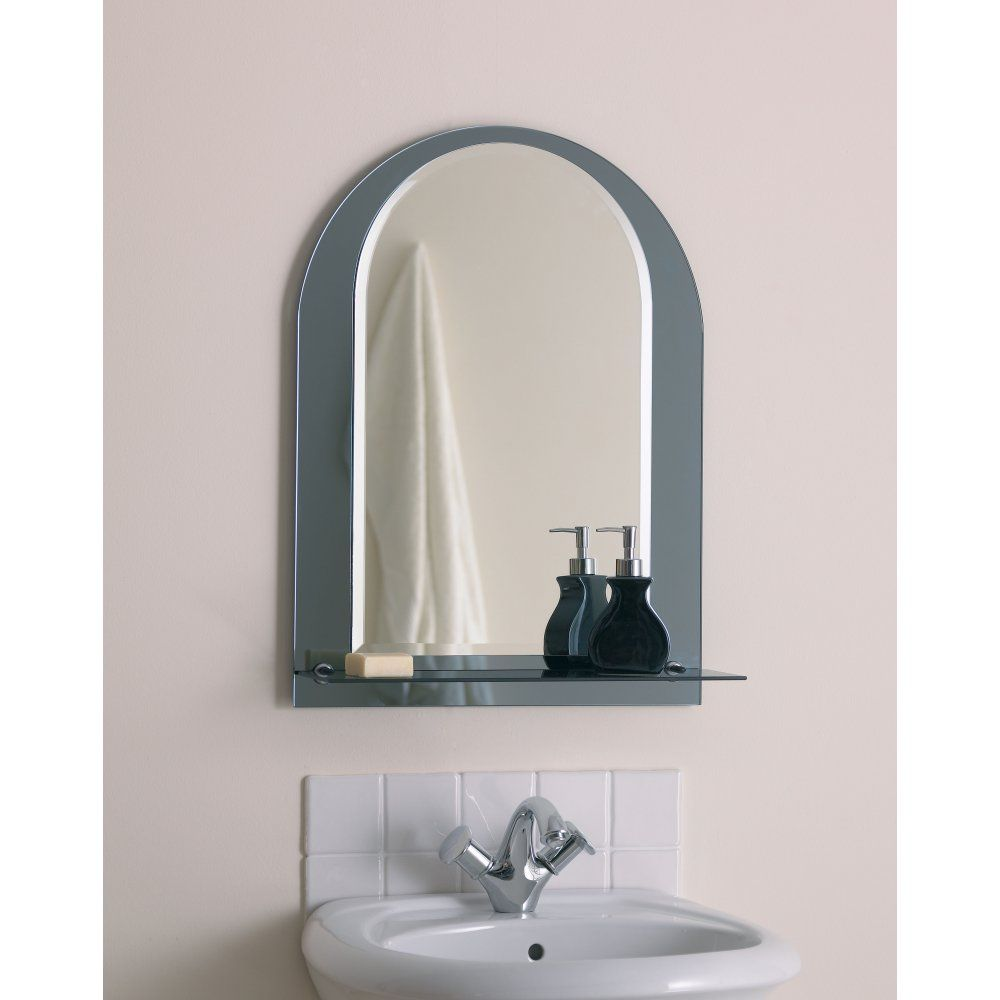 Attractive Bathroom Mirror With Shelf