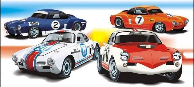 Racing Karmann Ghia built by Dacon In Brasil, with Porsche motors and brakes In the 70's.