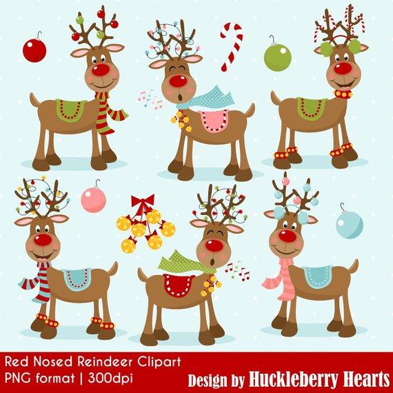 Reindeer Clipart Christmas Clipart Christmas Reindeer Etsy Reindeer Clipart Reindeer Clipart Christmas Christmas Clipart
