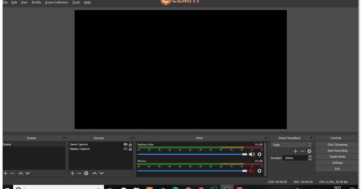 Open Broad Caster Software Studio Adalah Software Program Streaming Dan Rekaman Gratis Yang Berbasis Opn Source Akan Tetapi Banyak Studio Komputer Ketenangan