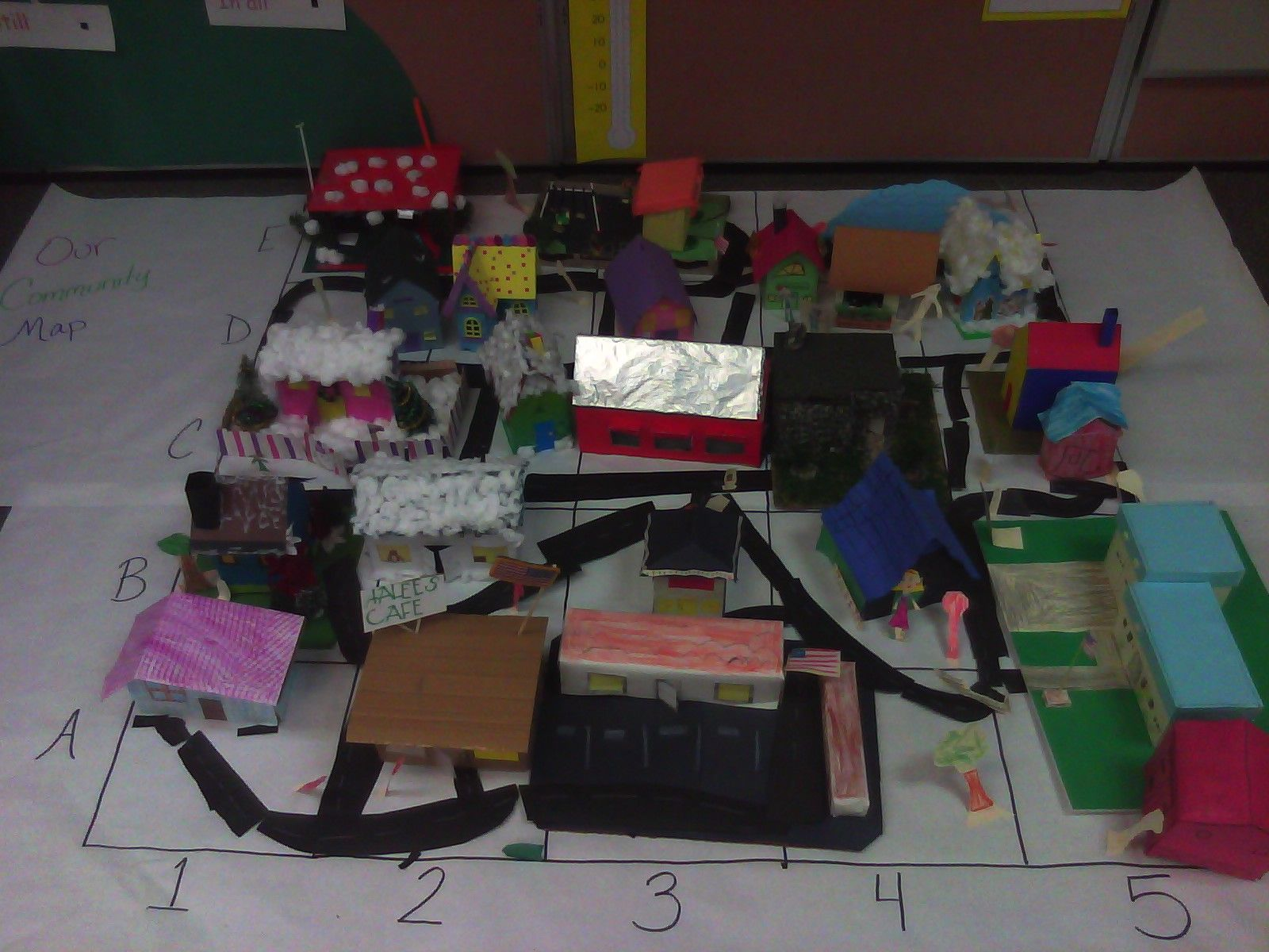 Students Created Their Own 3d Grid Map And Had A Blast