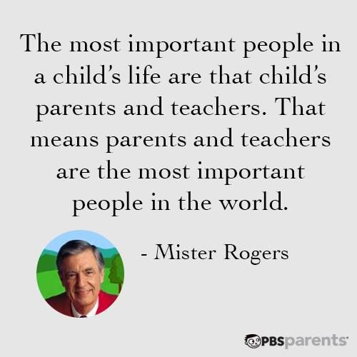 Wonderful Quote From Mister Rogers With Images Parents As