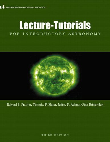 Lecture Tutorials For Introductory Astronomy 3rd Edition Lecture Tutorials For Introductory Astronomy Astronomy Reading Astronomy Lecture