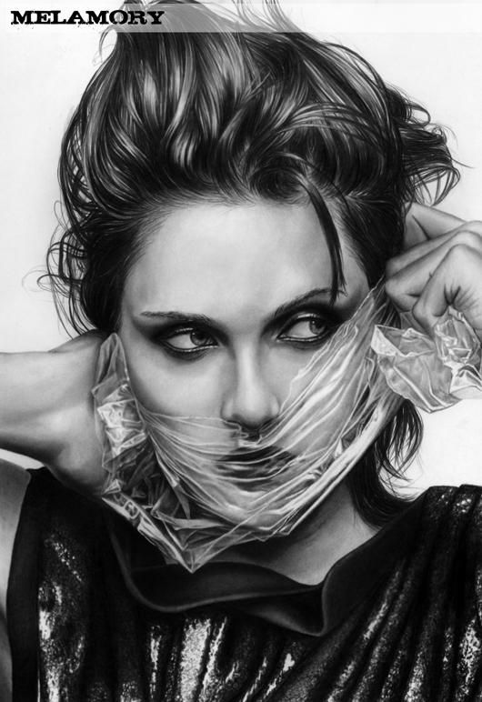 Umm yeah this would be a pencil sketch unbelievable kristen stewart by fairyartos 530 772