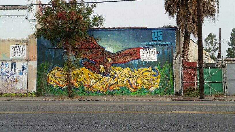 Famous Oldschool Streetartists Aybon Klean Leave This Piece On W Adams Blvd S Mansfield Ave In Los Angeles Neighborhoods Los Angeles The Neighbourhood
