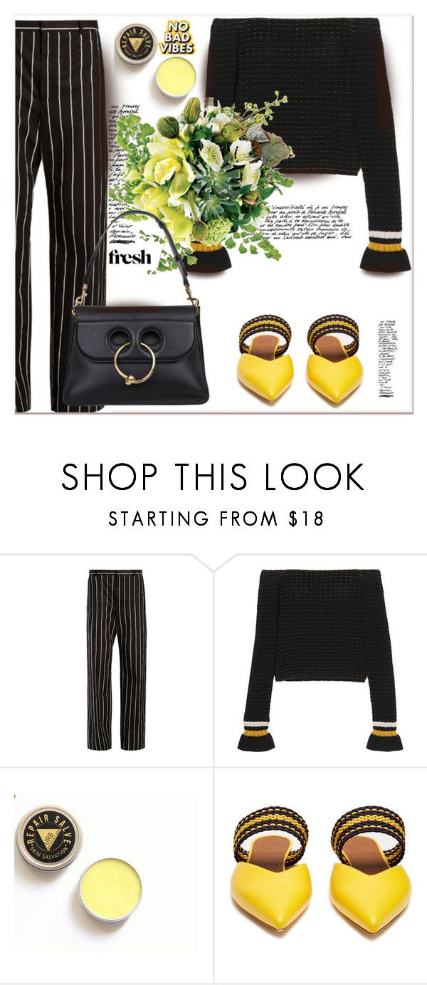 """""""Off-the-Shoulder ..."""" by dragananovcic ❤ liked on Polyvore featuring Balenciaga, 3.1 Phillip Lim, Guide London, Roksanda and J.W. Anderson"""